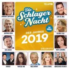 Die Schlagernacht des Jahres 2019: Die Erste, CD