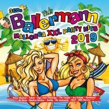 Ballermann Mallorca XXL: Party Hits 2019, 3 CDs