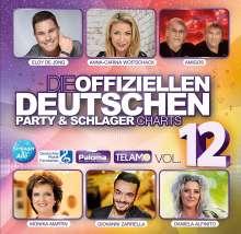 Die offiziellen deutschen Party & Schlager Charts Vol.12, 2 CDs