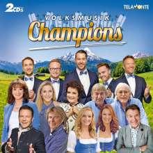 Volksmusik Champions, 2 CDs