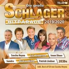 Die große Schlager Hitparade 2019/2020, 2 CDs
