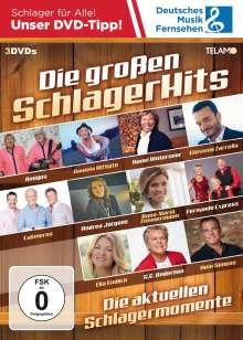 Die großen Schlager Hits, 3 DVDs