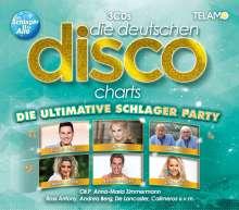 Die deutschen Disco Charts: Die ultimative Schlager Party, 3 CDs