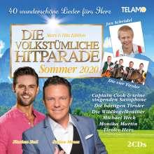 Die volkstümliche Hitparade Sommer 2020, 2 CDs