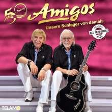 Die Amigos: 50 Jahre: Unsere Schlager von damals, 2 CDs