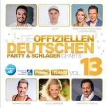 Die offiziellen deutschen Party & Schlagercharts Vol. 13, 2 CDs