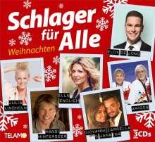 Schlager für Alle: Weihnachten, 3 CDs