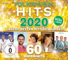 Volksmusik Hits 2020, 2 CDs und 1 DVD