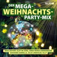 Der Mega Weihnachts Party-Mix, CD