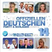 Die offiziellen deutschen Party & Schlager Charts Vol.14, 2 CDs