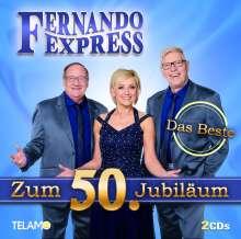 Fernando Express: Das Beste zum 50. Jubiläum, 2 CDs