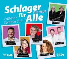 Schlager für Alle: Die Neue - Frühjahr/Sommer 2021, 3 CDs