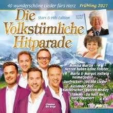 Die volkstümliche Hitparade (Frühling 2021), 2 CDs