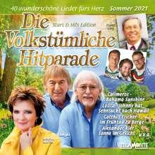 Die Volkstümliche Hitparade Sommer 2021, 2 CDs