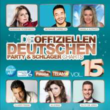 Die offiziellen deutschen Party & Schlager Charts Vol.15, 2 CDs