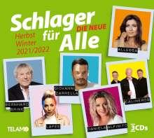 Schlager für Alle - Die Neue: Herbst/Winter 2021/2022, 3 CDs