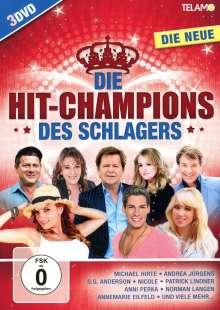 Die Hit-Champions des Schlagers: Die Neue (2018), 3 DVDs