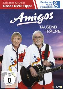 Die Amigos: Tausend Träume, DVD