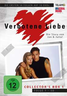 Verbotene Liebe Collector's Box 1 (Folge 1-50), 10 DVDs