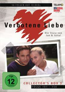 Verbotene Liebe Collector's Box 3 (Folge 101-150), 10 DVDs