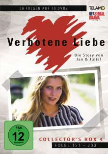 Verbotene Liebe Collector's Box 4 (Folge 151-200), 10 DVDs