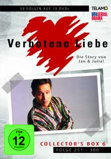 Verbotene Liebe Collector's Box 6 (Folge 251-300), 10 DVDs