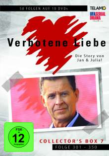Verbotene Liebe Collector's Box 7 (Folge 301-350), 10 DVDs
