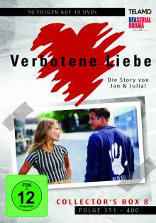 Verbotene Liebe Collector's Box 8 (Folge 351-400), 10 DVDs