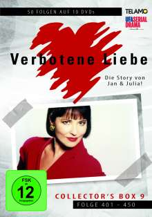Verbotene Liebe Collector's Box 9 (Folge 401-450), 10 DVDs