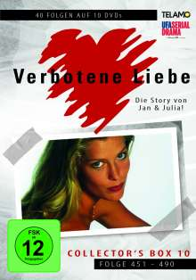Verbotene Liebe Collector's Box 10 (Folge 451-490), 10 DVDs