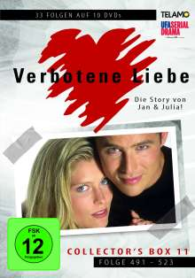 Verbotene Liebe Collector's Box 11 (Folge 491-523), 10 DVDs