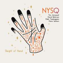 New York Standards Quartet (NYSQ): Sleight Of Hand, CD