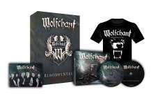 Wolfchant: Bloodwinter (Limited-Special-Deluxe-Box + Shirt Gr.XL), 2 CDs und 1 T-Shirt