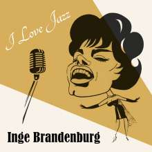 Inge Brandenburg (1929-1999): I Love Jazz, CD