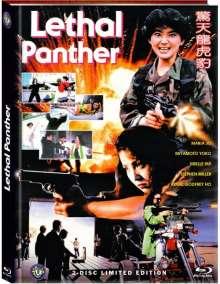 Lethal Panther (Der tödliche Panther) (Blu-ray & DVD im Mediabook), 1 Blu-ray Disc und 1 DVD