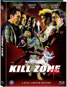 Kill Zone SPL (Blu-ray & DVD im Mediabook), 1 Blu-ray Disc und 1 DVD