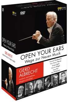 Gerd Albrecht - Open Your Ears (Wege zur Neuen Musik - Gesprächskonzerte), 6 DVDs