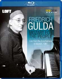Friedrich Gulda - Mozart for the People, Blu-ray Disc
