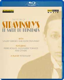 Igor Strawinsky (1882-1971): The Story of Strawinskys »Le Sacre du Printemps«, Blu-ray Disc