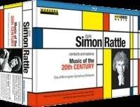 Simon Rattle - Musik im 20.Jahrhundert, 3 Blu-ray Discs