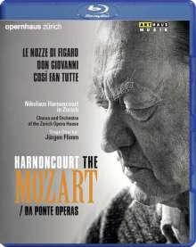 "Wolfgang Amadeus Mozart (1756-1791): Die ""Da Ponte-Opern"", 3 Blu-ray Discs"