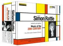 Simon Rattle - Musik im 20.Jahrhundert, 5 DVDs