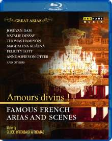 Great Arias - Famous French Arias and Scenes, Blu-ray Disc