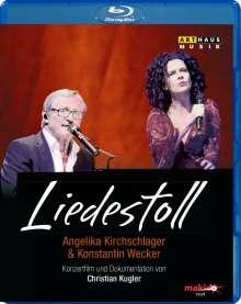 Angelika Kirchschlager & Konstantin Wecker - Liedestoll, Blu-ray Disc