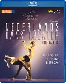Nederlands Dans Theater - Three Ballets, Blu-ray Disc
