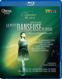 Ballet de l'Opera National de Paris - La Petite Danseuse de Degas, Blu-ray Disc