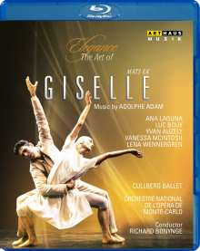 Cullberg Ballet:Giselle, Blu-ray Disc