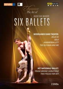 Hans Van Manen - Six Ballets, 2 DVDs