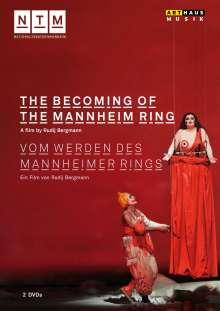 Richard Wagner (1813-1883): Vom Werden des Mannheimer Rings (Dokumentation), 2 DVDs
