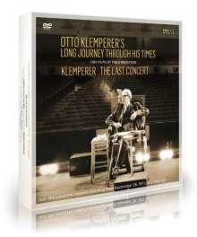 Otto Klemperer's Long Journey Through His Times & Klemperer - The Last Concert (Dokumentationen), 2 DVDs und 2 LPs
